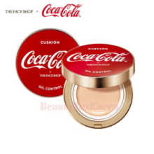 THE FACE SHOP Oil Control Water Cushion 15g [Coca Cola Edition],THE FACE SHOP